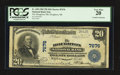 National Bank Notes:Michigan, Houghton, MI - $20 1902 Plain Back Fr. 650 The Houghton NB Ch. #7676. ...