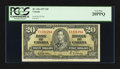 Canadian Currency: , BC-25b $20 1937. BC-30b $2 Devil's Face Portrait 1954. ... (Total:2 notes)