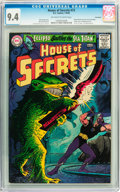 Silver Age (1956-1969):Horror, House of Secrets #73 Savannah pedigree (DC, 1965) CGC NM 9.4Off-white to white pages....