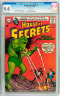 Silver Age (1956-1969):Science Fiction, House of Secrets #72 Savannah pedigree (DC, 1965) CGC NM 9.4 White pages....