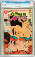 Bronze Age (1970-1979):Romance, Falling in Love #126 Savannah pedigree (DC, 1971) CGC NM 9.4 Creamto off-white pages....