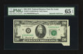 Error Notes:Attached Tabs, Fr. 2071-H $20 1974 Federal Reserve Note. PMG Gem Uncirculated 65EPQ.. ...
