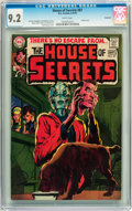 Bronze Age (1970-1979):Horror, House of Secrets #87 Savannah pedigree (DC, 1970) CGC NM- 9.2 Whitepages....