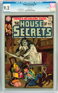 Silver Age (1956-1969):Horror, House of Secrets #82 Savannah pedigree (DC, 1969) CGC NM- 9.2 Whitepages....