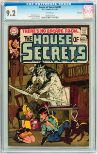 House of Secrets #82 Savannah pedigree (DC, 1969) CGC NM- 9.2 White pages