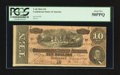Confederate Notes:1864 Issues, T68 $10 1864. Two Examples.. ... (Total: 2 notes)
