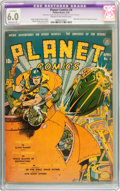 Golden Age (1938-1955):Science Fiction, Planet Comics #2 and 4 CGC-Graded Restored Group (Fiction House,1940).... (Total: 2 Comic Books)
