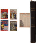Memorabilia:Miscellaneous, Mystery/Adventure Book Group (Various Publishers, 1940s-50s)....(Total: 6 Items)