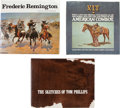 Movie/TV Memorabilia:Memorabilia, Three Coffee Table Western Art Books.... (Total: 3 )