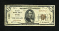 National Bank Notes:Oklahoma, Nash, OK - $5 1929 Ty. 1 The First NB Ch. # 11306. This was the sole issuer in this Grant County locale and elected to i...