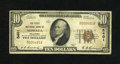 National Bank Notes:Oklahoma, Nowata, OK - $10 1929 Ty. 1 The First NB Ch. # 5401. A Fine $10 Type 1 with wallet soiling on the back....