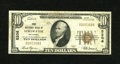 National Bank Notes:Oklahoma, Stillwater, OK - $10 1929 Ty. 1 The First NB Ch. # 5206. An evenly circulated Fine+ from this elusive issuer....