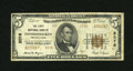 National Bank Notes:Pennsylvania, Conshohocken, PA - $5 1929 Ty. 2 The First NB Ch. # 2078. Just a half dozen of the $5 Type 2 are known from here. Fine...