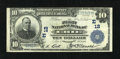 National Bank Notes:Pennsylvania, Erie, PA - $10 1902 Plain Back Fr. 624 The First NB Ch. # (E)12. A bright Very Fine from the far northwest corner of...