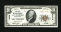 National Bank Notes:Pennsylvania, Glen Campbell, PA - $10 1929 Ty. 1 The First NB Ch. # 5204. This isone of the great town names in nationaldom. At one t...