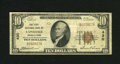 National Bank Notes:Pennsylvania, Lansdale, PA - $10 1929 Ty. 1 First NB Ch. # 430. This note came to us with a sticker from the consignor indicating that...