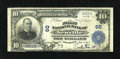 National Bank Notes:Pennsylvania, Newville, PA - $10 1902 Plain Back Fr. 624 The First NB Ch. # 60. A Very Fine Cumberland County note from one of the...