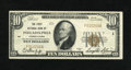 National Bank Notes:Pennsylvania, Philadelphia, PA - $10 1929 Ty. 1 The First NB Ch. # 1. These notes continually escalate in price due to the fact that m...