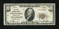 National Bank Notes:Pennsylvania, Philadelphia, PA - $10 1929 Ty. 1 The First NB Ch. # 1. Everynational collector needs a charter number 1 note in their ...
