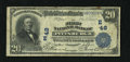 National Bank Notes:Pennsylvania, Pittsburgh, PA - $20 1902 Date Back Fr. 642 The First NB Ch. #(E)48. A Fine note from a better Pittsburgh bank....
