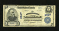 National Bank Notes:Pennsylvania, Sellersville, PA - $5 1902 Plain Back Fr. 608 The Sellersville NB Ch. # 2667. A solid Fine from the only bank to iss...