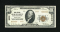 National Bank Notes:Pennsylvania, Souderton, PA - $10 1929 Ty. 2 The Union NB & TC Ch. # 2333.Embossing is a highlight of this $10 with ample margins and...