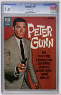 Silver Age (1956-1969):Mystery, Four Color #1087 Peter Gunn (Dell, 1960) CGC FN/VF 7.0 Off-whitepages....