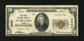 National Bank Notes:Texas, Wichita Falls, TX - $20 1929 Ty. 1 The First NB Ch. # 3200. An appealing Very Fine from a bank that issued notes und...