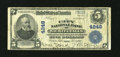 National Bank Notes:Texas, Wichita Falls, TX - $5 1902 Plain Back Fr. 601 The City NB Ch. # 4248. This Fine note bears the first of three title...