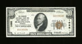 National Bank Notes:Vermont, Burlington, VT - $10 1929 Ty. 1 The Howard NB & TC Ch. # 1698. A nice About Uncirculated from a state without a plet...