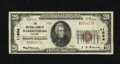 National Bank Notes:Virginia, Harrisonburg, VA - $20 1929 Ty. 1 The NB of Harrisonburg Ch. #11694. You can add this note to the four Type 1 $20s curr...