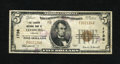 National Bank Notes:Virginia, Leesburg, VA - $5 1929 Ty. 1 The Loudoun NB Ch. # 1738. There havebeen only three auction appearances for Series 1929 n...
