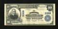National Bank Notes:Virginia, Norfolk, VA - $10 1902 Plain Back Fr. 624 Norfolk NB Ch. # 3368.This Very Fine note came to us in a holder indicati...