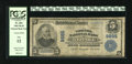 National Bank Notes:Virginia, Norfolk, VA - $5 1902 Plain Back Fr. 601 The Virginia NB Ch. #9885. Barely legible signatures of R.J. Smith and Hugh G....