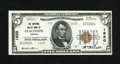 National Bank Notes:Virginia, Staunton, VA - $5 1929 Ty. 2 The National Valley Bank Ch. # 1620. AChoice Crisp Uncirculated example from a small a...