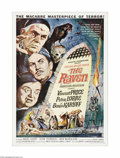 """Movie Posters:Horror, The Raven (American International, 1963). One Sheet (27"""" X 41""""). Roger Corman directed this satirical parody based on Edgar ..."""