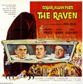 Movie Posters:Horror, The Raven (AIP, 1963)....