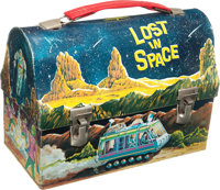 Lost in Space Dome Top Lunch Box (Thermos, 1967)