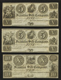 Obsoletes By State:Ohio, Franklin, OH- Franklin Silk Company $5; $5; $10; $10. ... (Total: 4notes)