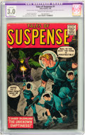 Silver Age (1956-1969):Science Fiction, Tales of Suspense #1 (Marvel, 1959) CGC Apparent GD/VG 3.0 Slight(P) Cream to off-white pages. ...