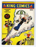 Platinum Age (1897-1937):Miscellaneous, King Comics #5 (David McKay Publications, 1936) Condition: VG....