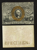 Fractional Currency:Second Issue, Fr. 1314SP 50¢ Second Issue Narrow Margin Specimen Pair.. ... (Total: 2 notes)