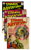 Silver Age (1956-1969):Science Fiction, Strange Adventures Group (DC, 1955-70) Condition: Average FN....(Total: 14 Comic Books)