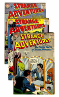 Silver Age (1956-1969):Science Fiction, Strange Adventures Group (DC, 1959-68) Condition: Average FN/VF....(Total: 11 Comic Books)