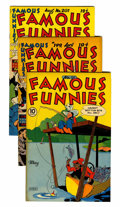 Golden Age (1938-1955):Miscellaneous, Famous Funnies File Copy Group (Eastern Color, 1945-53) Condition: Average VF+.... (Total: 8 Comic Books)