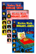 Silver Age (1956-1969):Humor, Richie Rich Dollars and Cents File Copies Group (Harvey, 1964-72) Condition: Average VF/NM.... (Total: 40 Comic Books)