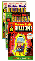 Bronze Age (1970-1979):Cartoon Character, Richie Rich Billions File Copies Group (Harvey, 1974-82) Condition:Average NM-.... (Total: 94 Comic Books)