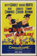 "Movie Posters:Comedy, How to Be Very, Very Popular (20th Century Fox, 1955). One Sheet (27"" X 41""). Comedy.. ..."