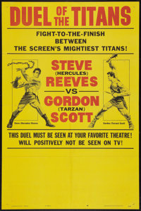 """Duel of the Titans (Paramount, 1963). One Sheet (27"""" X 41"""") Style B. Action"""