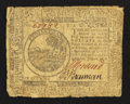 Colonial Notes:Continental Congress Issues, Continental Currency July 22, 1776 $6 Very Good-Fine.. ...